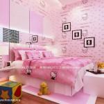 interior kamar tidur anak putri
