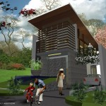 villa minimalis contemporer