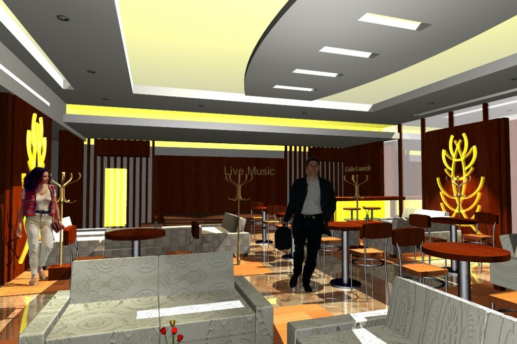 desain interior loby hotel