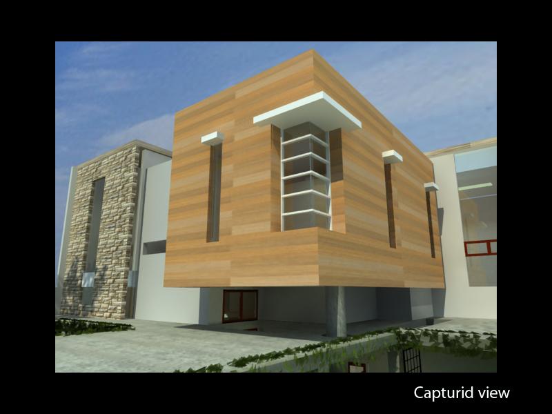 detail  rumah sudut