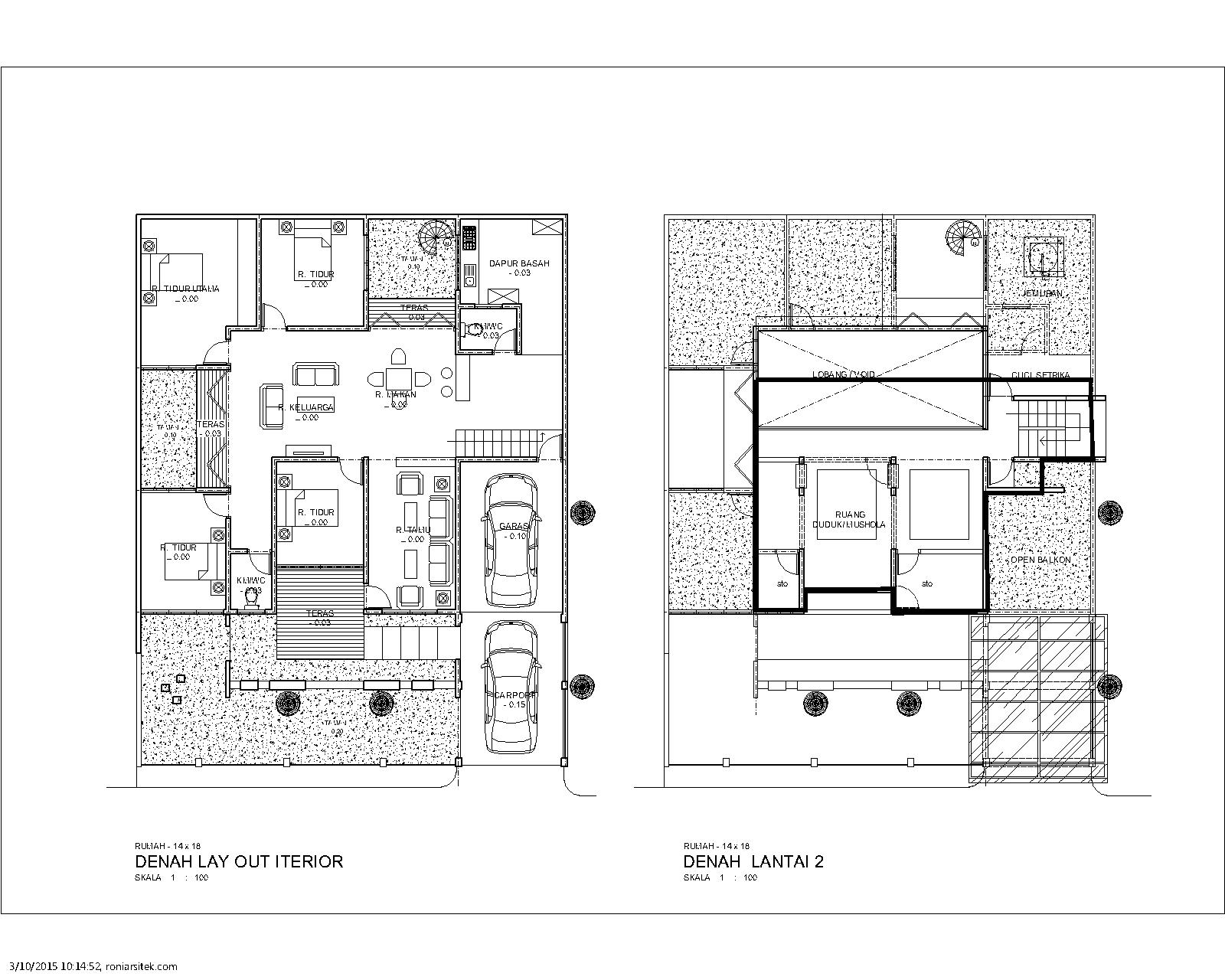 konsep desain rumah hemat energi desain rumah