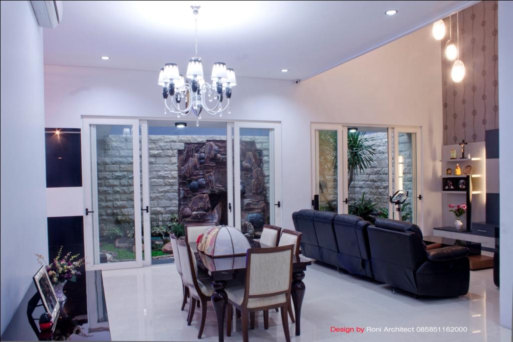 ruang makan dan keluarga