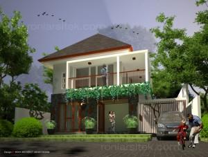 rumah tropis modern di riau