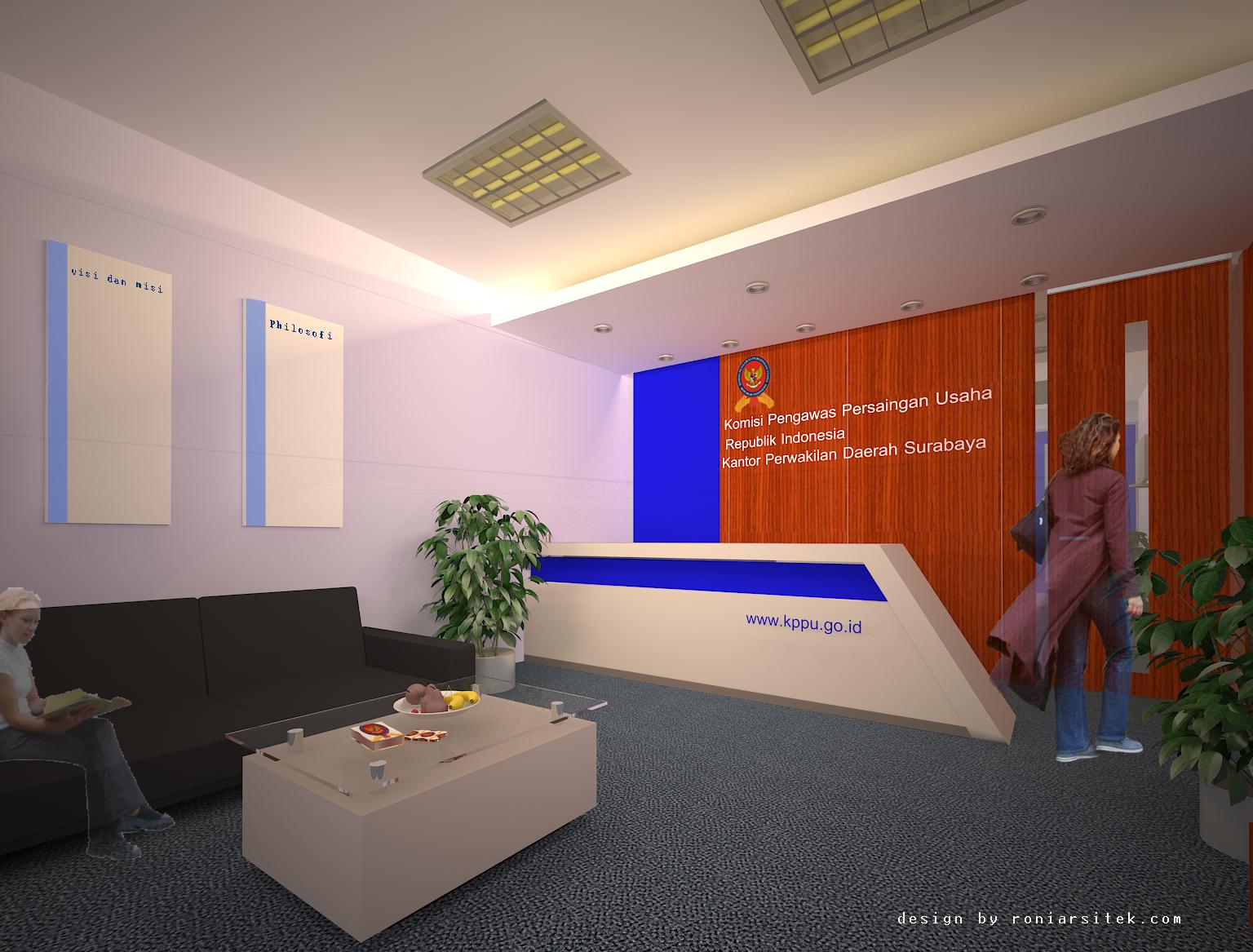 desain interior loby kantor 2