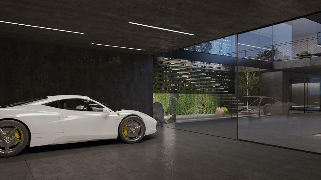model desain garasi