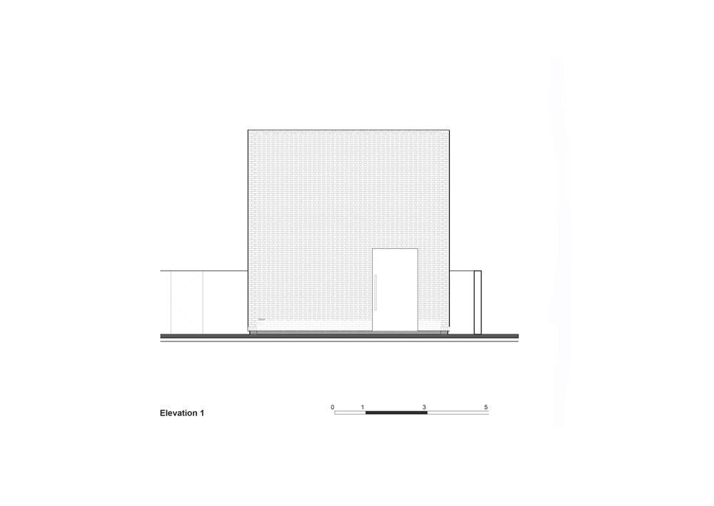 desain tampak depan rumah bata