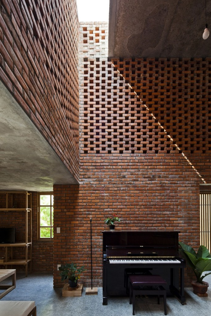 desain interior rumah bata