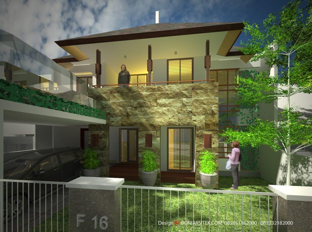 jasa arsitek rumah tropis modern