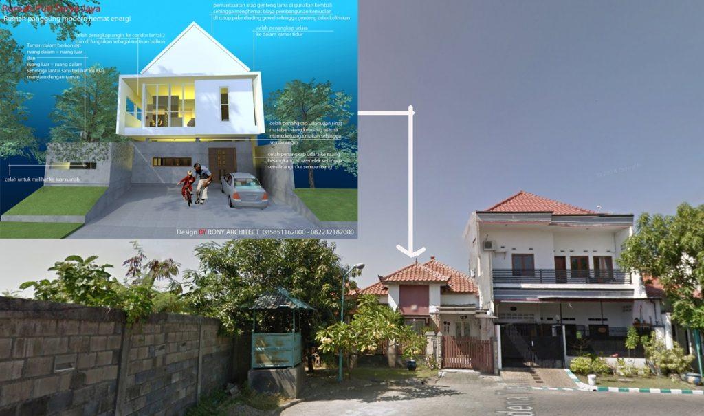 Renovasi Rumah menjadi rumah Sehat dan hemat energi litrik