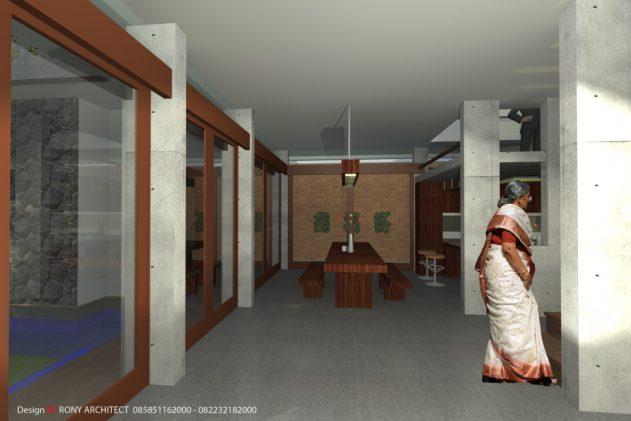 ruang keluarga , yang sehat dan hemat energi listrik