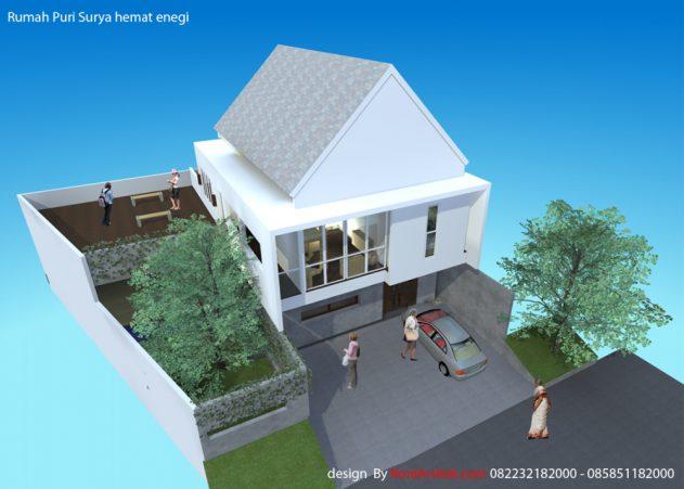 desain Rumah Hemat Energi, di puri Surya jaya sidoarjo
