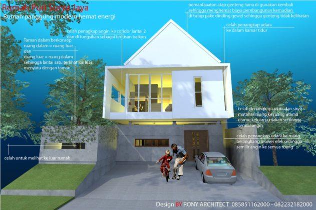 Rumah Hemat Energi , Puri Surya Jaya Sidoarjo