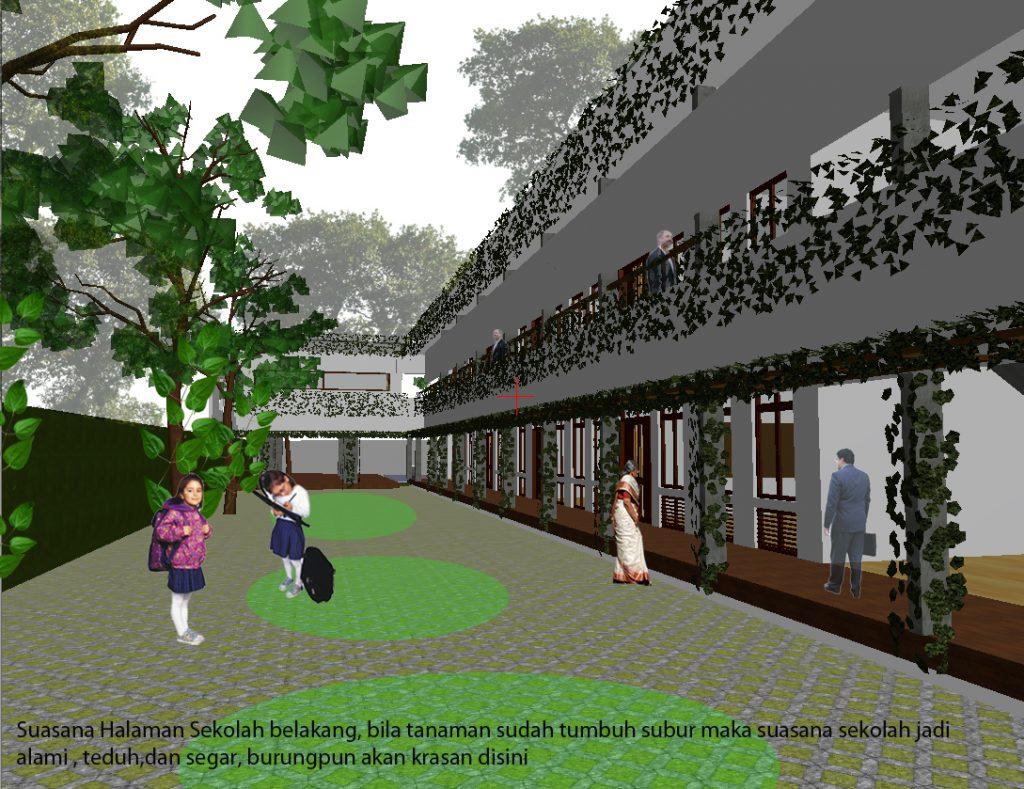 desain sekolah alami
