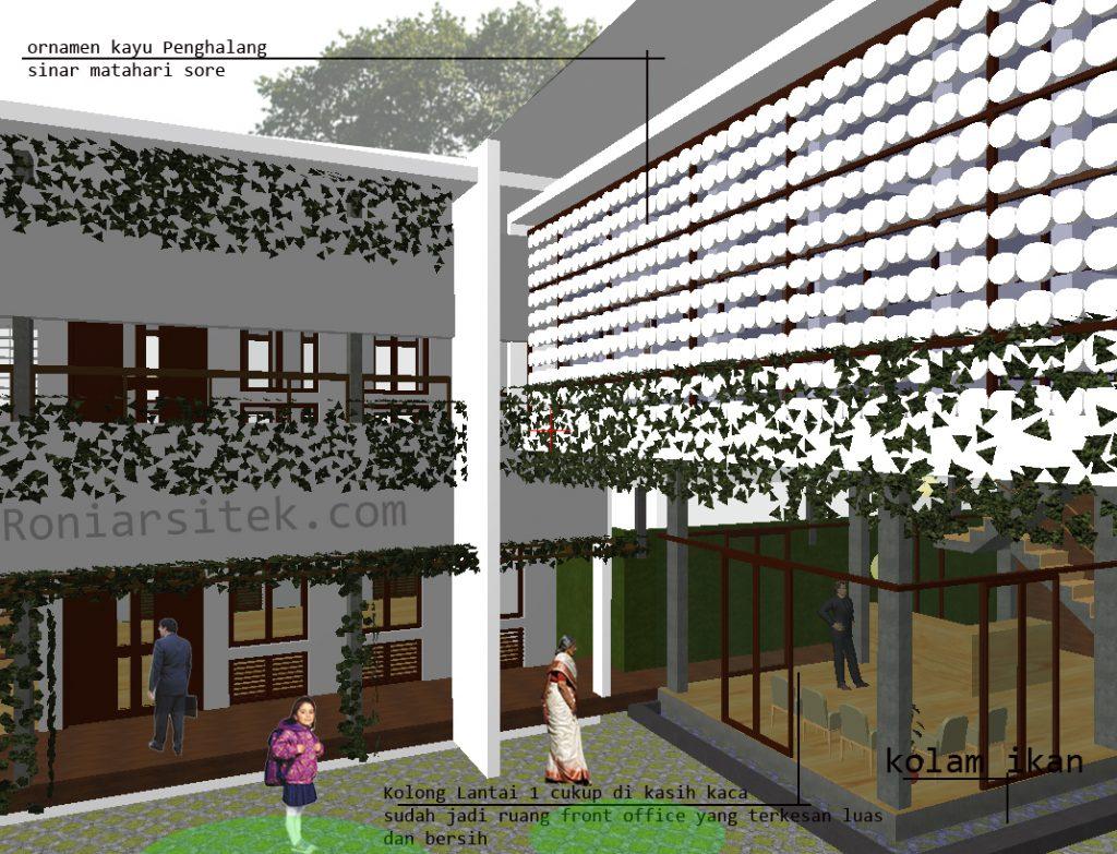 desain sekolah alam dan hemat energi