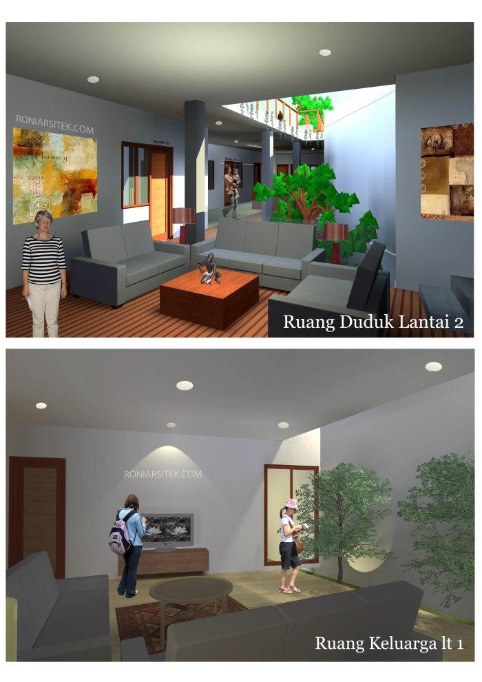 desain interior rumah kos