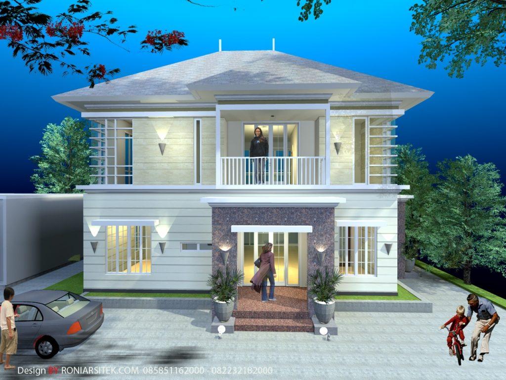 Desain Rumah Tropis Modern Roni Arsitek Com Roni Arsitek Com