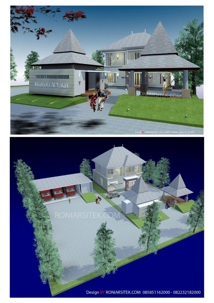 desain rumah tropis modern di madura