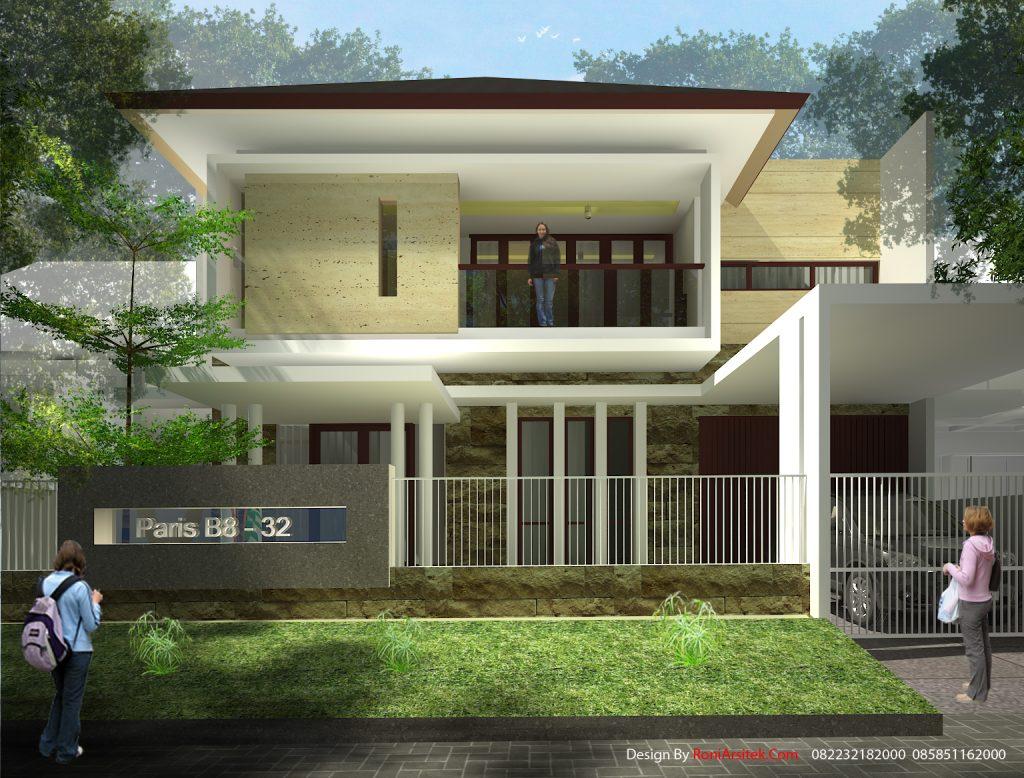 Desain Rumah Tropis Modern Roni Arsitek Com Roni Arsitek Com Rumah tropis modern yang ideal