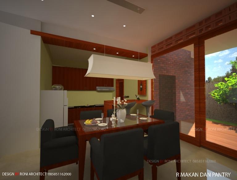 desain interior ruang makan sehat