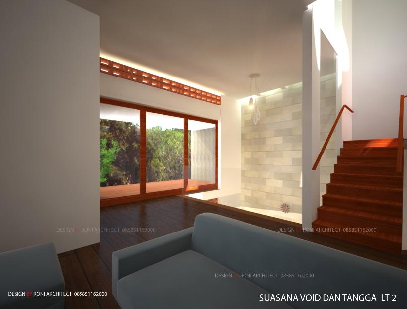 desain interior ruang keluarga sehat dan hemat energi listrik