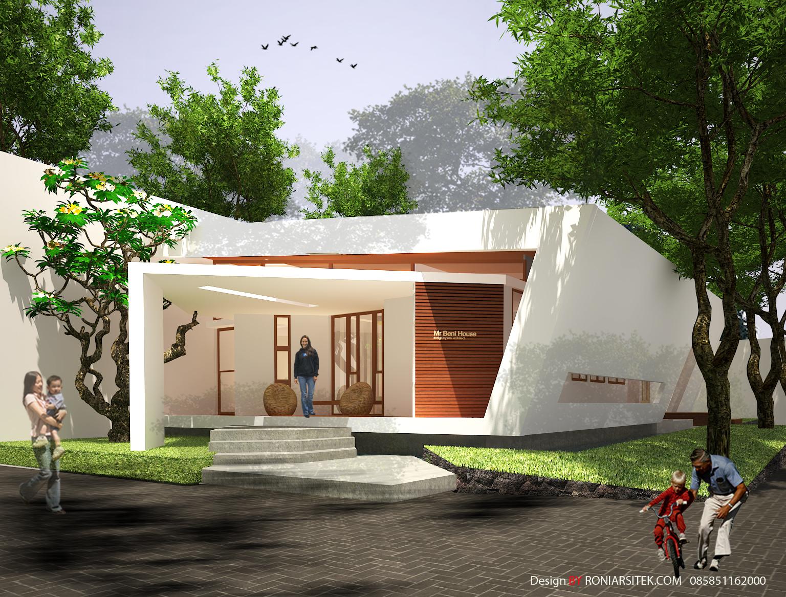 Rumah Unik Hemat Energi