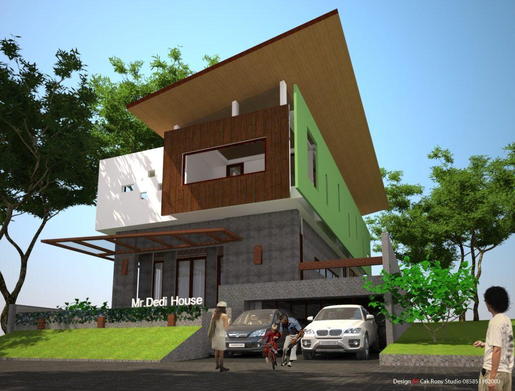 rumah super modern