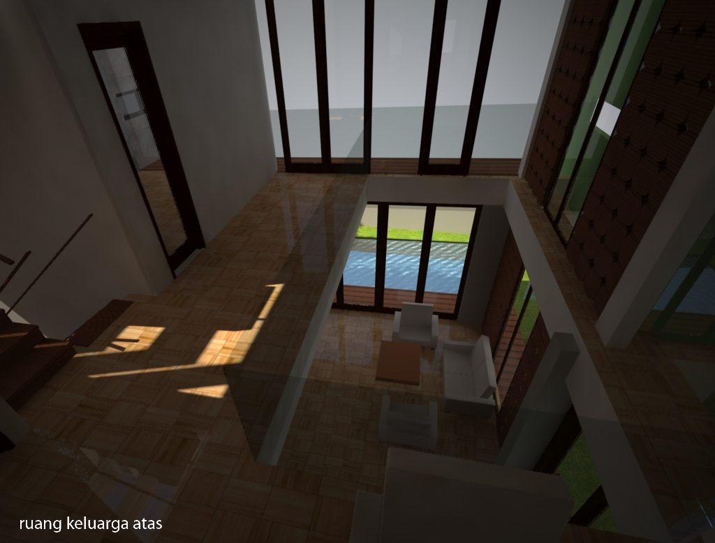 desain interior ruang dalam lt 2